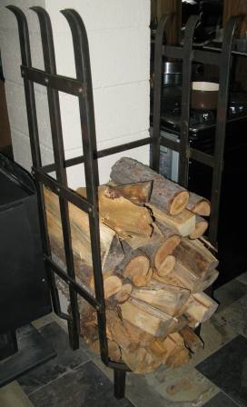 "60""x20"" fire log holder"